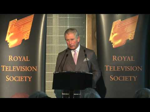 A speech by HRH The Prince of Wales at the Royal Television Society