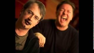 Ricky Gervais & Robin Ince - Politics Commentary