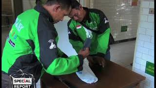 MENYAMAR OJEK ONLINE POLISI TEMBAK MATI PENCURI MOTOR INEWSTV SURABAYA