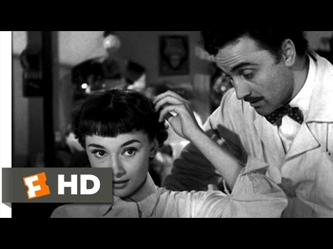 Roman Holiday (8/10) Movie CLIP - Short Haircut (1953) HD