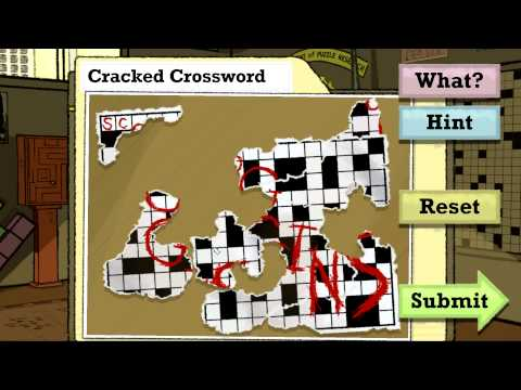 Puzzle Agent Walkthrough - Cracked Crossword