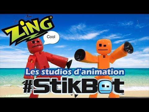 #StikBot - Démo des studios d'animation en français