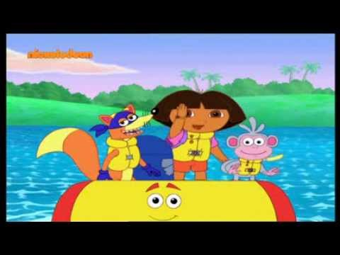 Ντόρα η Μικρή Εξερευνήτρια Νέα Επεισόδια [Nickelodeon Greece]