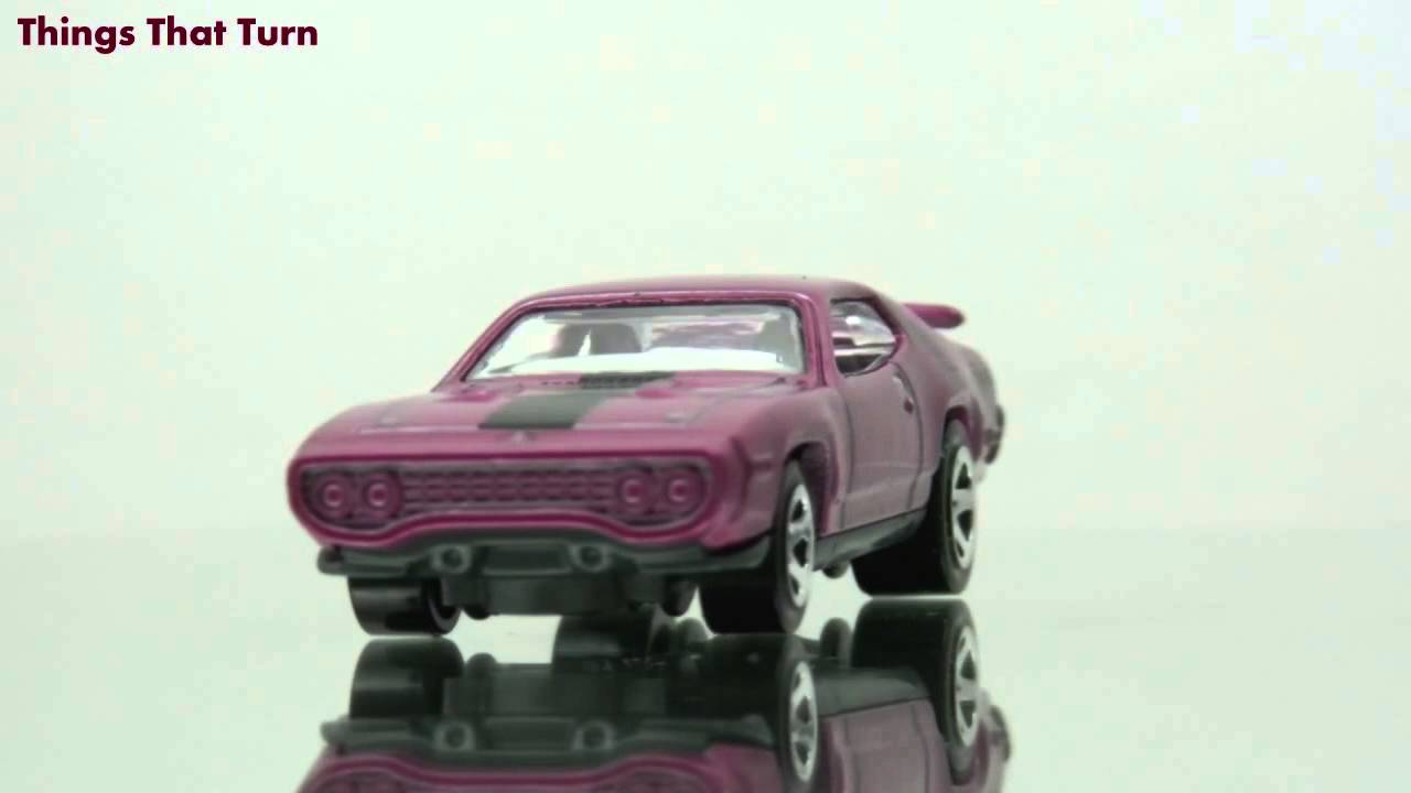 2012 Hot Wheels 71 Plymouth Road Runner 6 Youtube