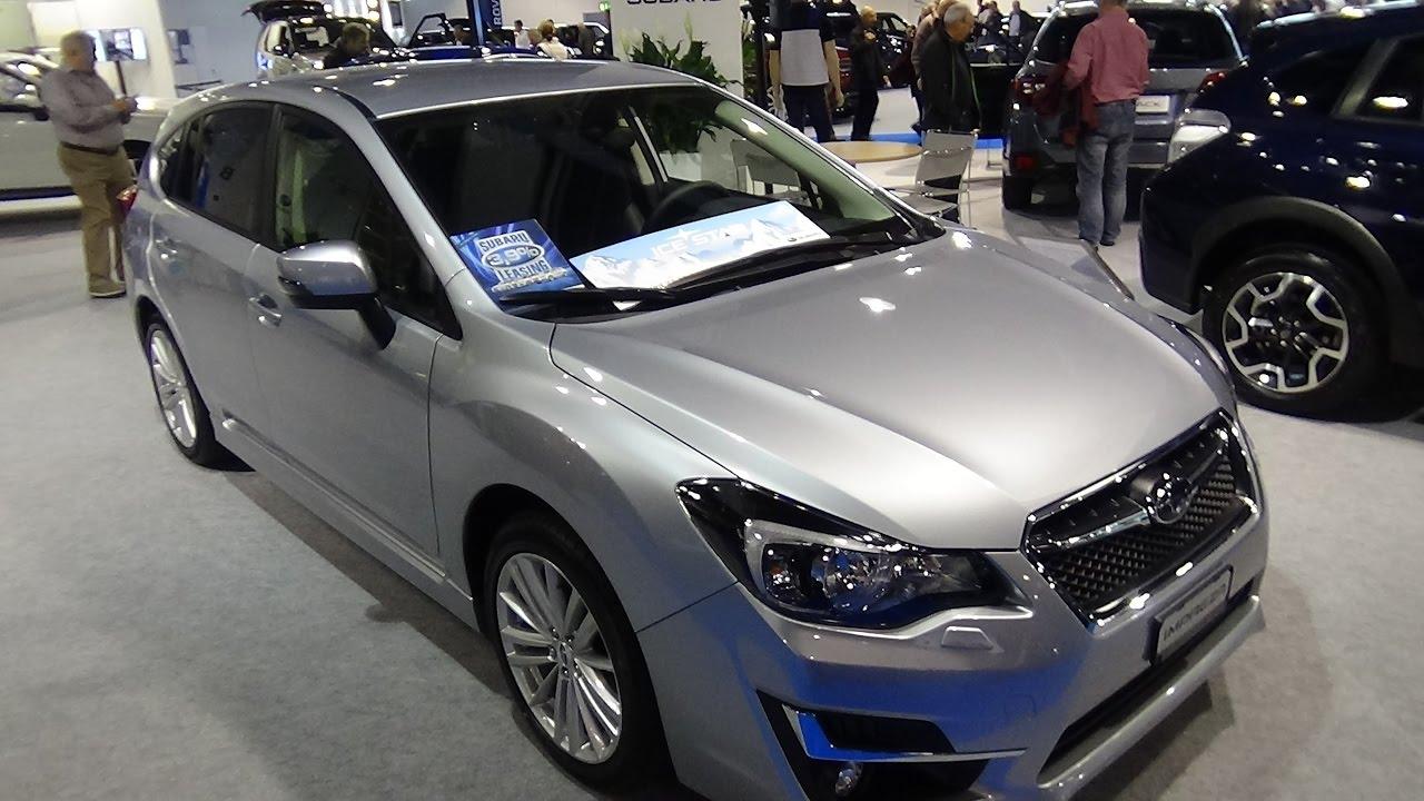 2017 Subaru Impreza Wagon Swiss Sport Exterior And Interior