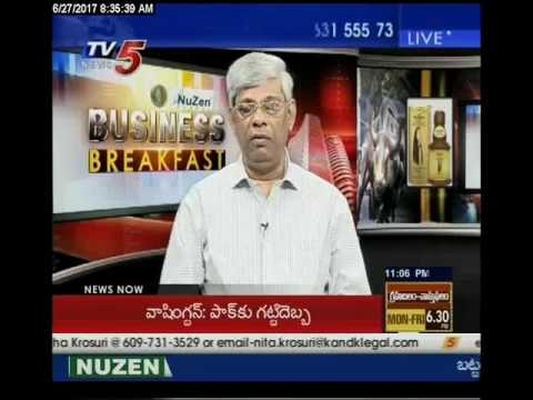 27rth June 2017 TV5 News Business Breakfast