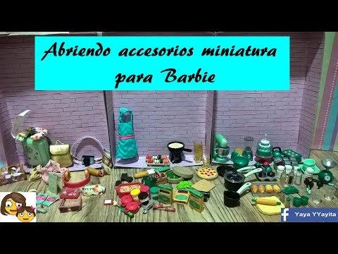 Accesorios Miniatura para Barbie (Lori)