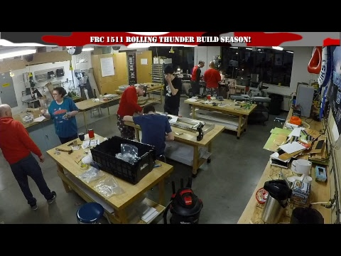 Build Season | FIRST 1511 Rolling Thunder | DESTINATION: DEEP SPACE