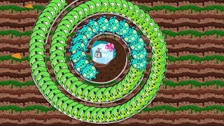 Bad Piggies - THE ALIEN CATCH THE CRATE THROUGH THE SPIRAL!