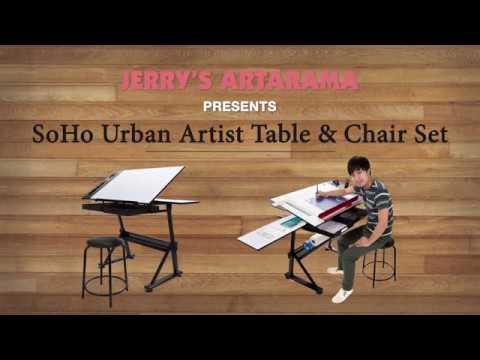 Product Demo - SoHo Urban Artist Table & Chair Set