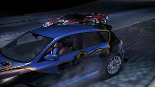 jugando Need for Speed Carbono xd xd