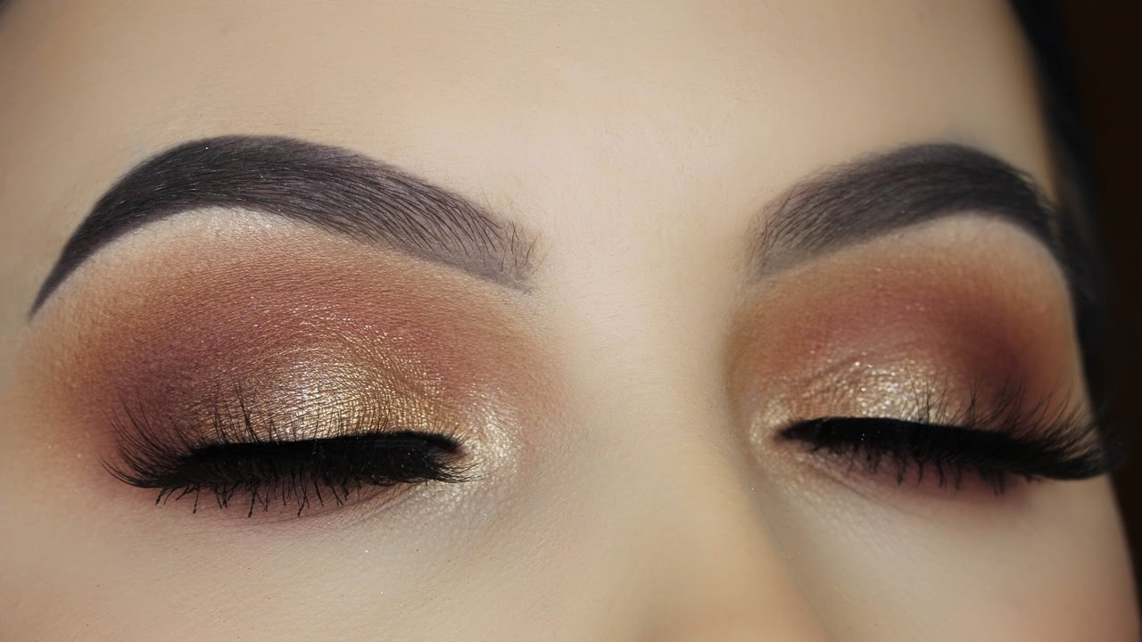 Warm Brown Makeup Tutorial Fall Makeup Look Youtube