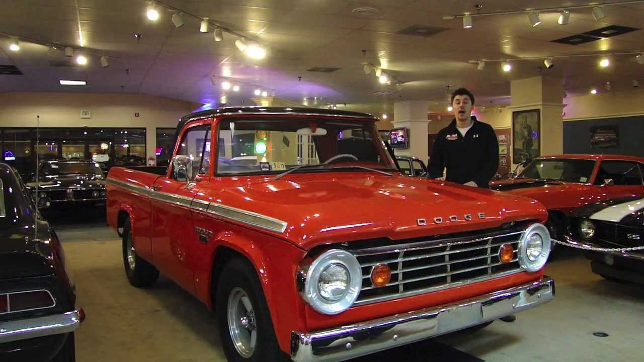 1967 Dodge D100 Sweptline Truck For Sale - YouTube