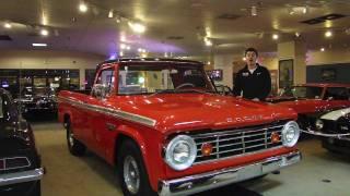 1967 Dodge D100 Sweptline Truck For Sale