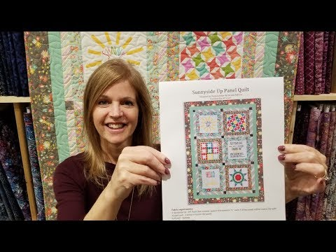 SEW EASY! Free Pattern Panel Project :)