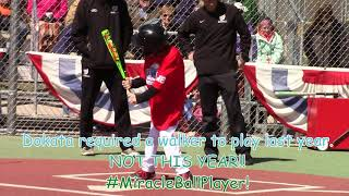 West Michigan Miracle League with Zeeland West Baseball 4 28 2018