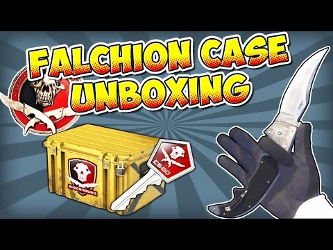 CS:GO - Falchion Case Unboxing - 25 CASES!