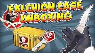 CS:GO - Falchion Case Unboxing - 25 CASES!