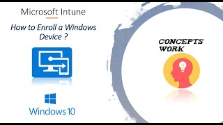 How to Enroll Winḋows Device In Intune?