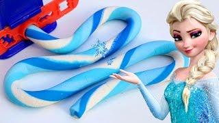 how to make playdough mighty toys super frozen elsa bonus 20 colors play doh fun molds