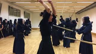 Kendo Takanabe Susumu 7e Dan Kyoshi au Kenyu 04/12/2017