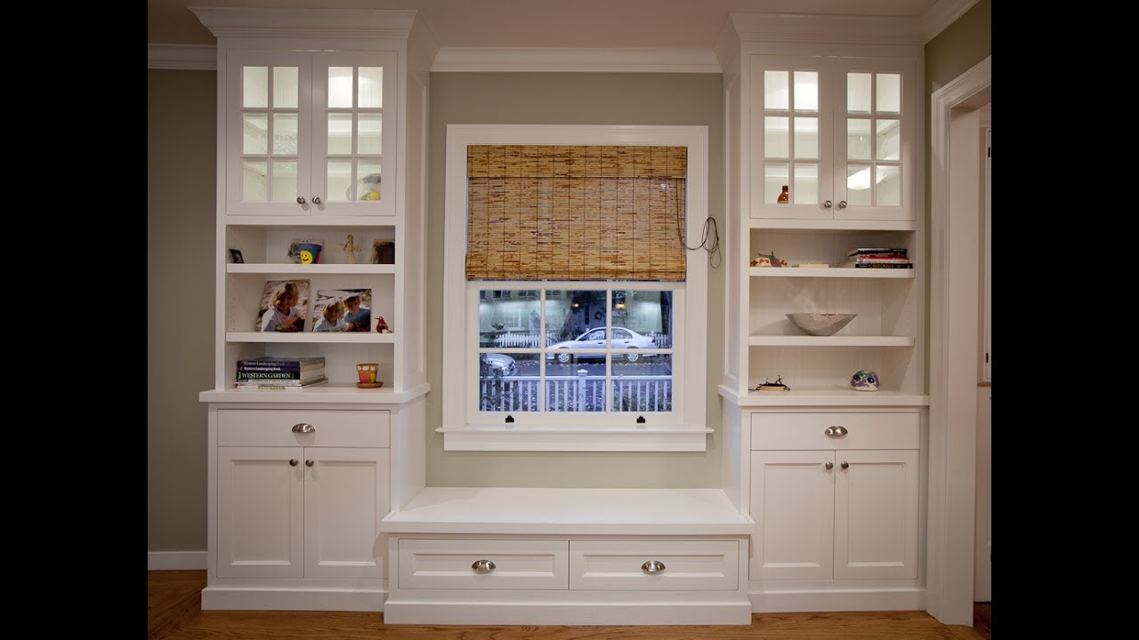 diy built in bookcase - How To Make Built In Bookshelves