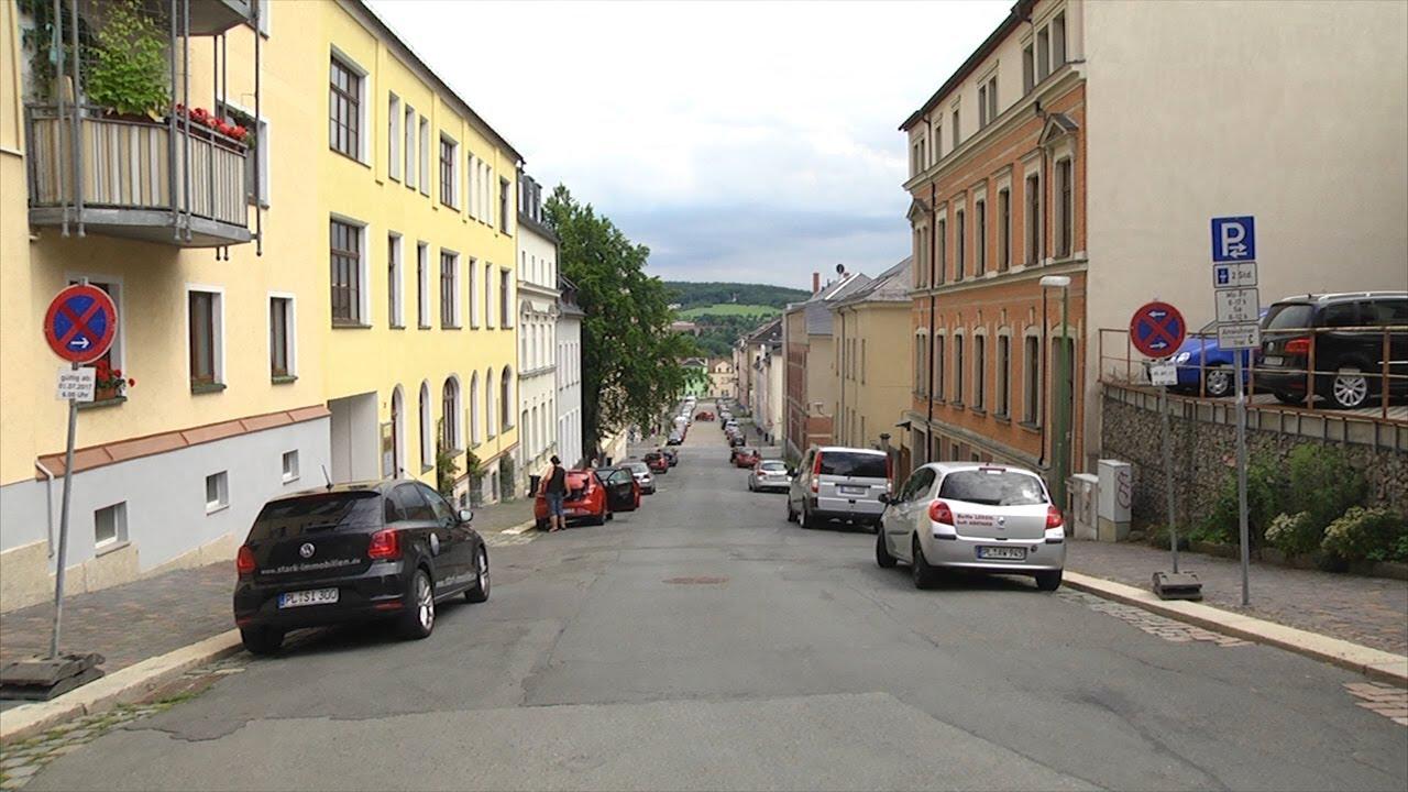 Annenstraße in Plauen wird ausgebaut - YouTube