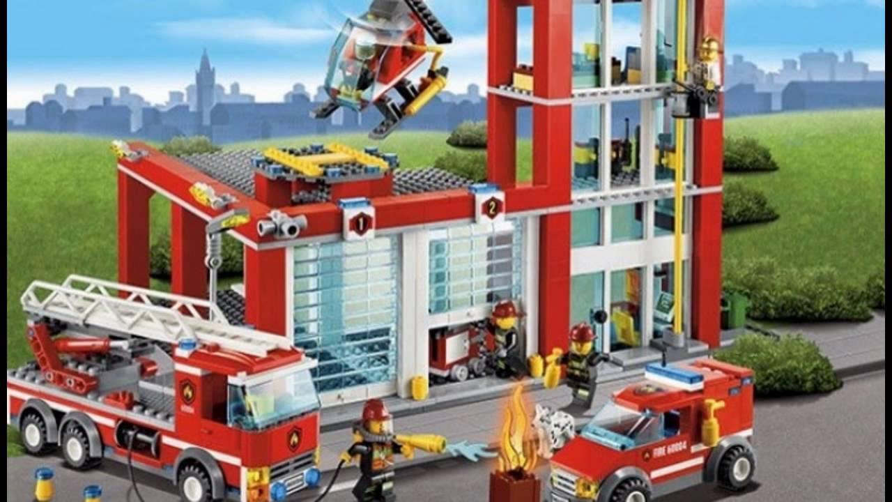 Помоги пожарным загрузить оборудование в грузовик и вертолёт!. Пришло время обеда, так что съезжай вниз по шесту и отправляйся к киоску с хот догами.