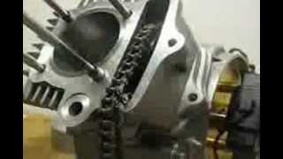 cara pasang engine motor