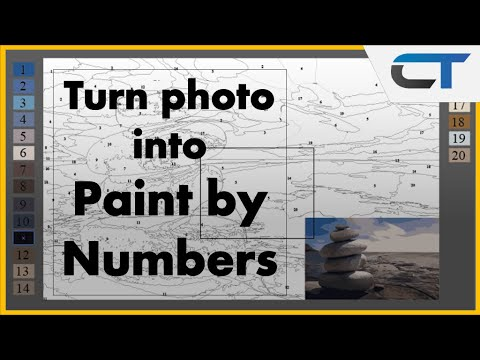 Create your own Paint by Numbers | Illustrator