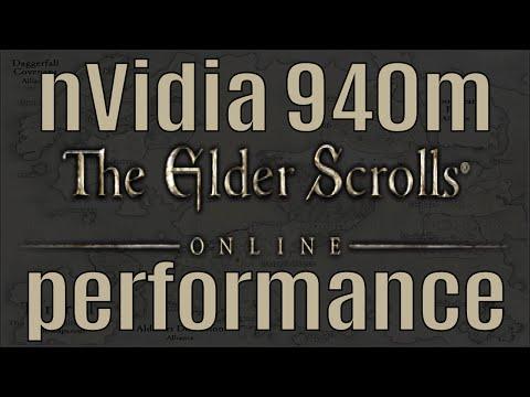 The Elder Scrolls Online nVidia 940m Performance