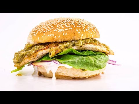 How To Make Salsa Verde Chicken or Fish Sandwiches By Rachael