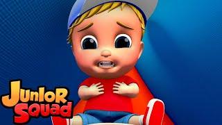 Испуганный темноте | детские песни | развивающий мультфильм | Junior Squad Russia | потешки