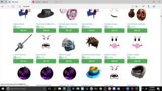 ROBLOX BLACK MARKET?!?!