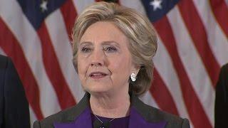 Democrats face uncertain future as Clinton concedes
