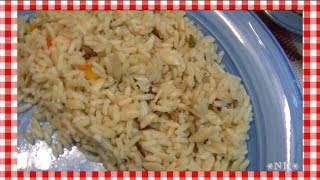 Orange Scented Calico Rice Recipe ~ Noreen's Kitchen
