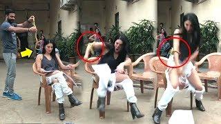 Sunny Leone's FUNNY Snake PRANK By Husband Daniel Webber