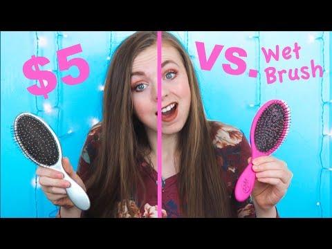 Wet Brush VS. $5 Brush 😱