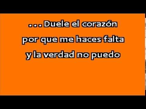 GERARDO ORTIZ Duele el corazón karaoke
