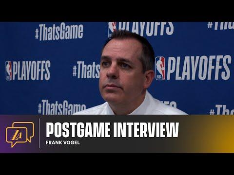 Lakers Postgame: Frank Vogel (5/30/21)