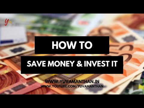 How to save money and invest it with manu pushkar    YuvaManthan Live
