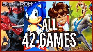 Sega Mega Drive/Genesis Mini Console / All 42 Games Revealed!