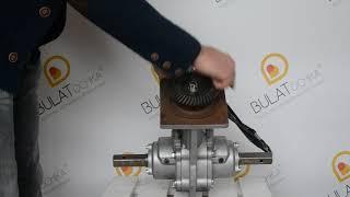 Видеообзор дифференциальной ноги (корпус редуктора с разблокираторами осей мотоблока) WEIMA DIFF