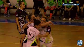 Calcio a 5, Serie A femminile - playoff: Olimpus - Lazio, highlights