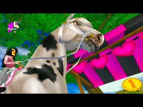 Valentines Day Riding ! Star Stable Horse Online Game Play Video - Honey Hearts C