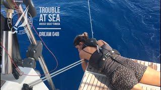 Sailing The Dream   #048   Trouble at Sea Greece - Sicily - Tunisia