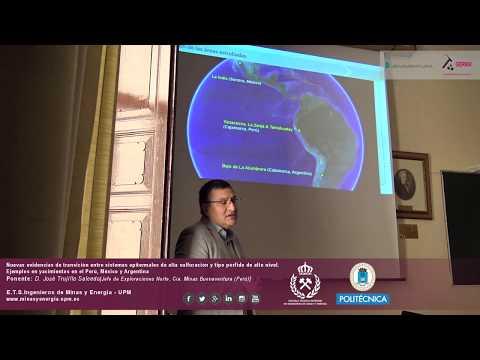 Conferencia Sistemas Epitermales y Tipo Pórfido. Yacimientos Sudamerica