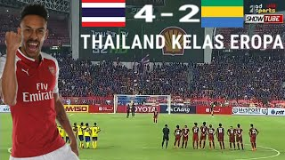 FULL HIGHLIGHT THAILAND VS GABON FT 0-0  (PK 4 - 2)