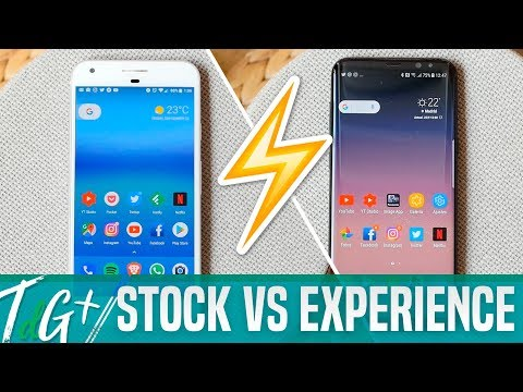 Android Stock VS Samsung Experience UI