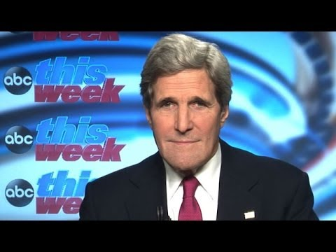'This Week': John Kerry Interview on Crimea, Ukraine